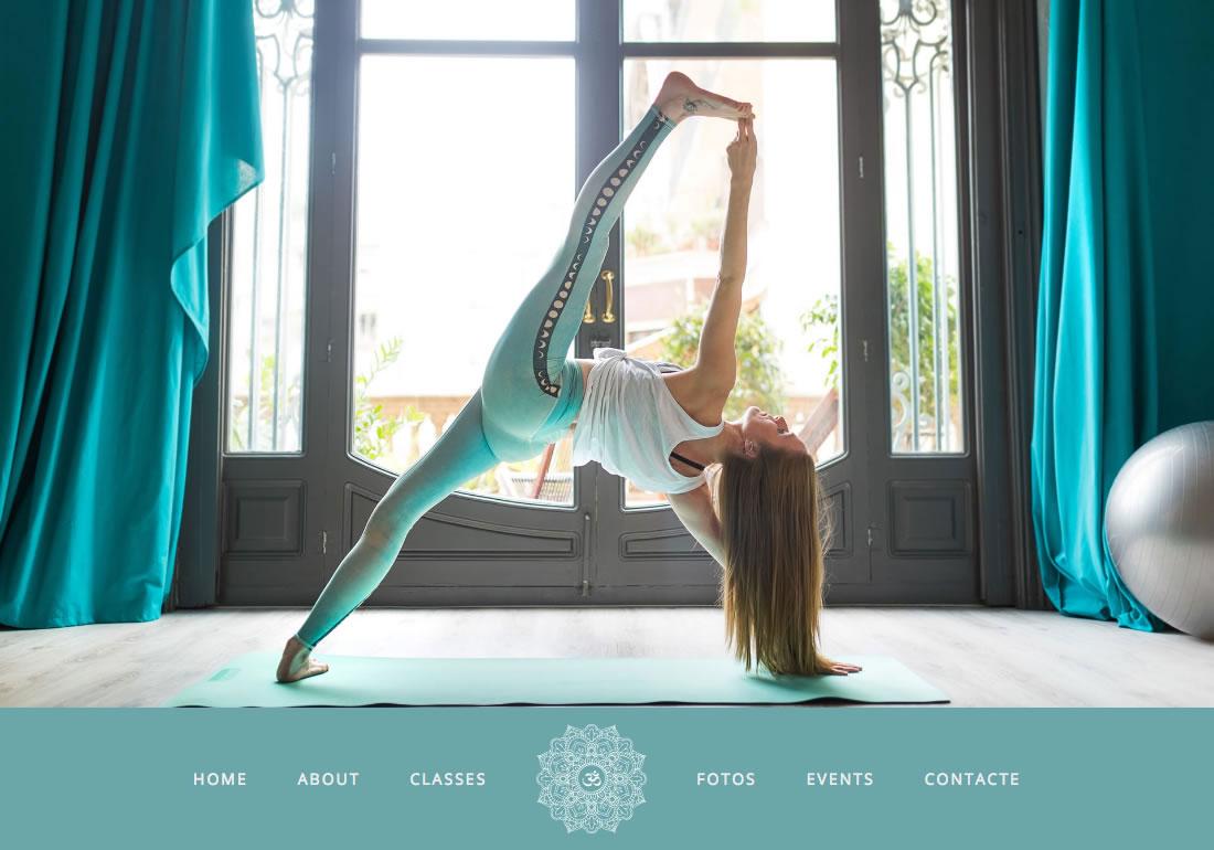 Yoga teacher in Barcelona