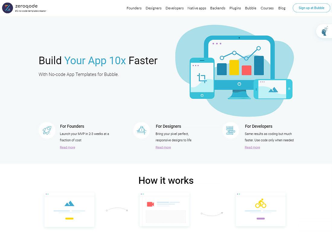 Zeroqode - No-code App Templates