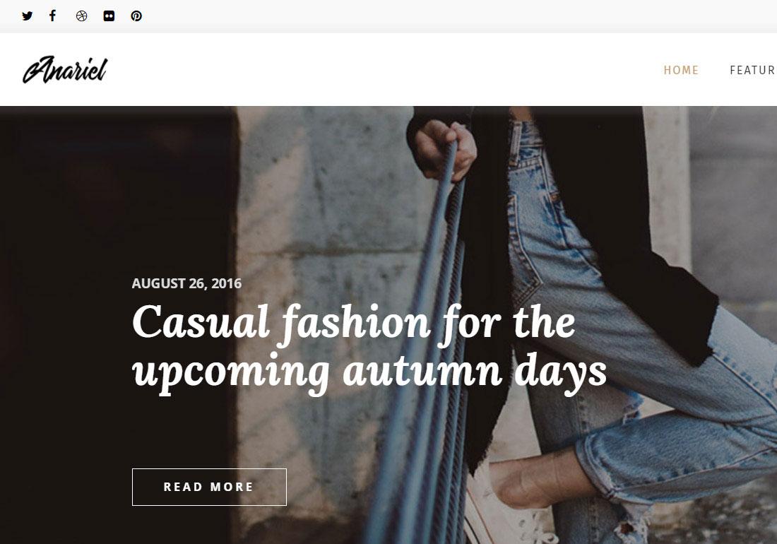Anariel – A Lifestyle WP Blog