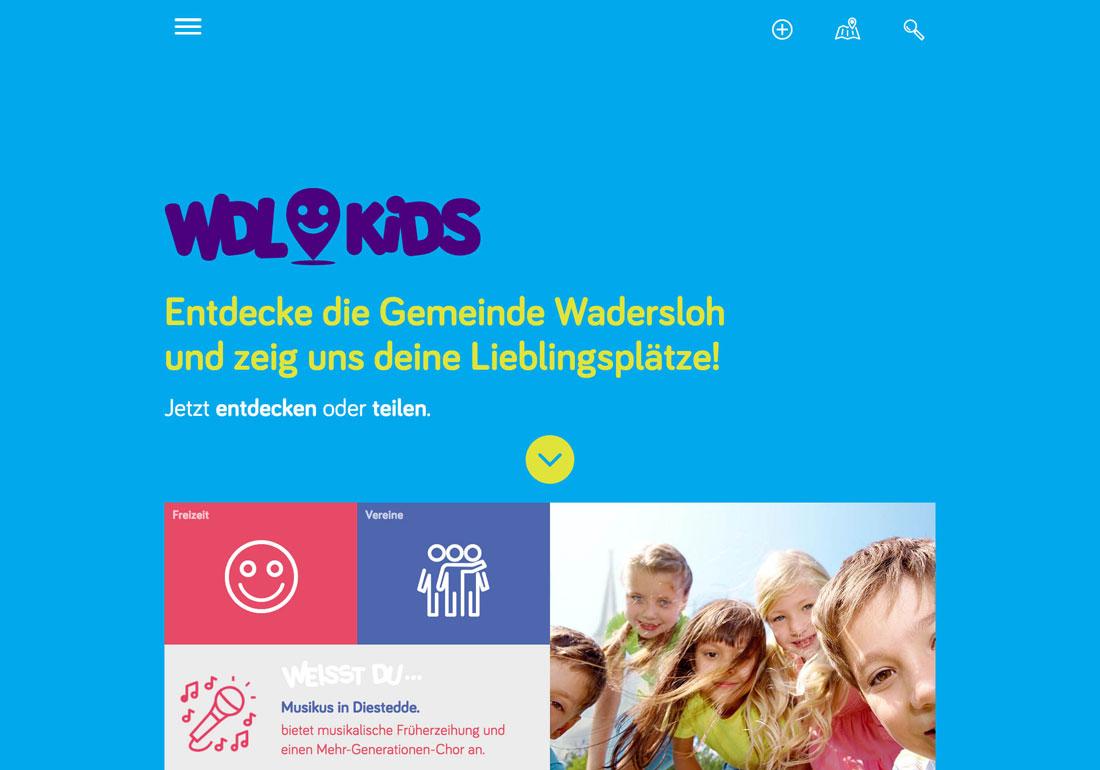 Kinderstadtplan Gemeinde Wadersloh