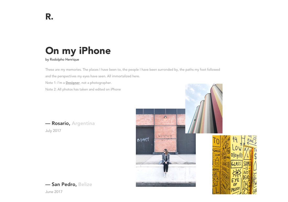 Rodolpho Henrique - On my iPhone
