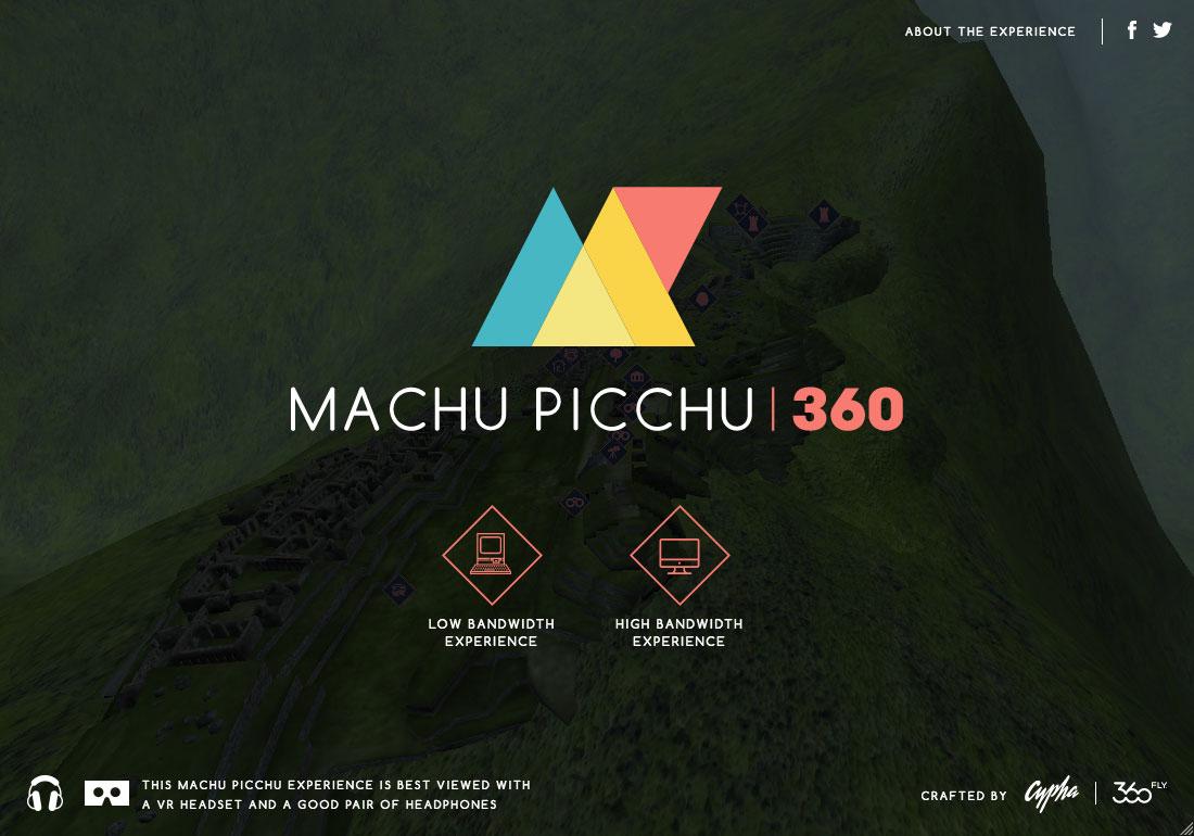 Machu Picchu 360° VR Experience