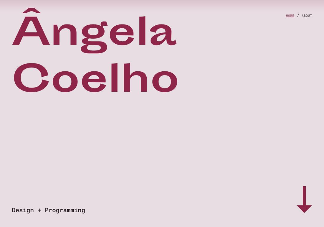 Ângela Coelho | Portfolio