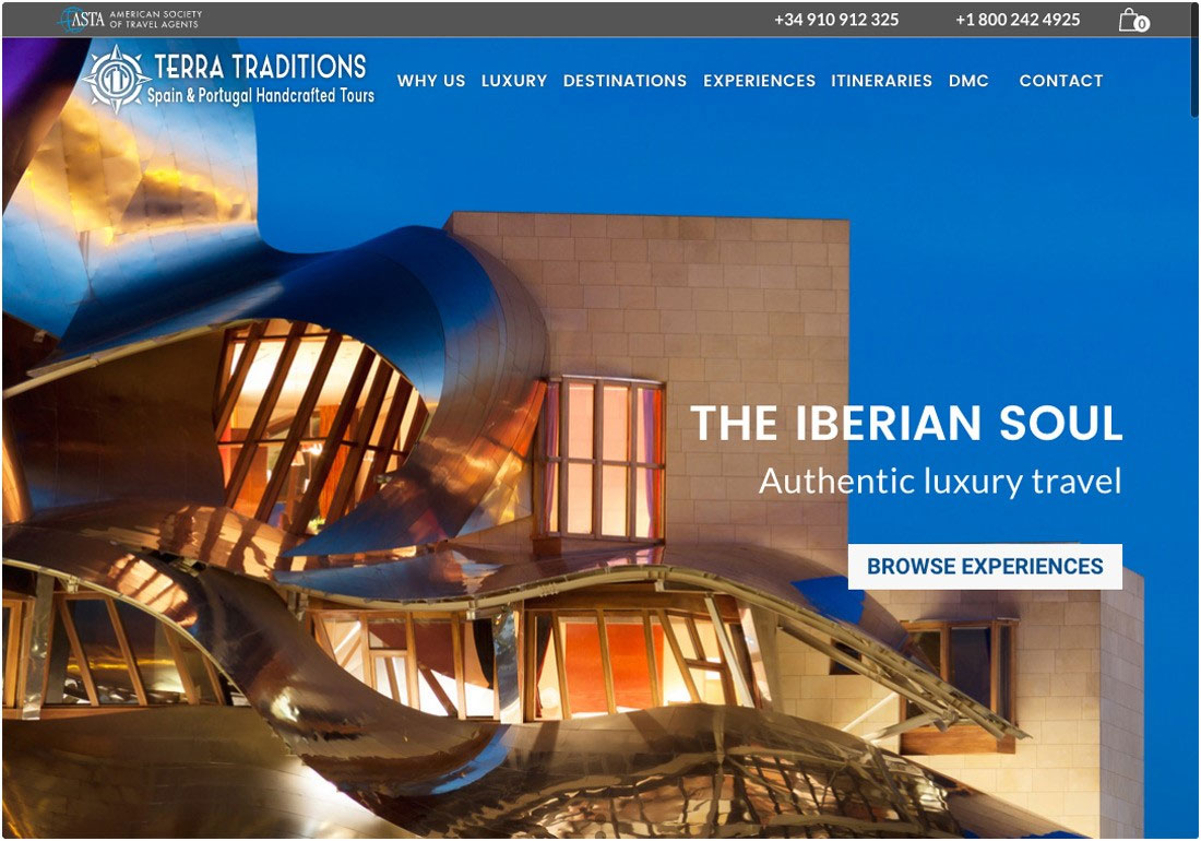 Terra Traditions Luxury travel
