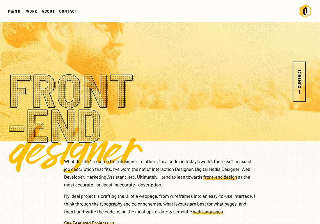 Derek Mohr: Designer + Developer