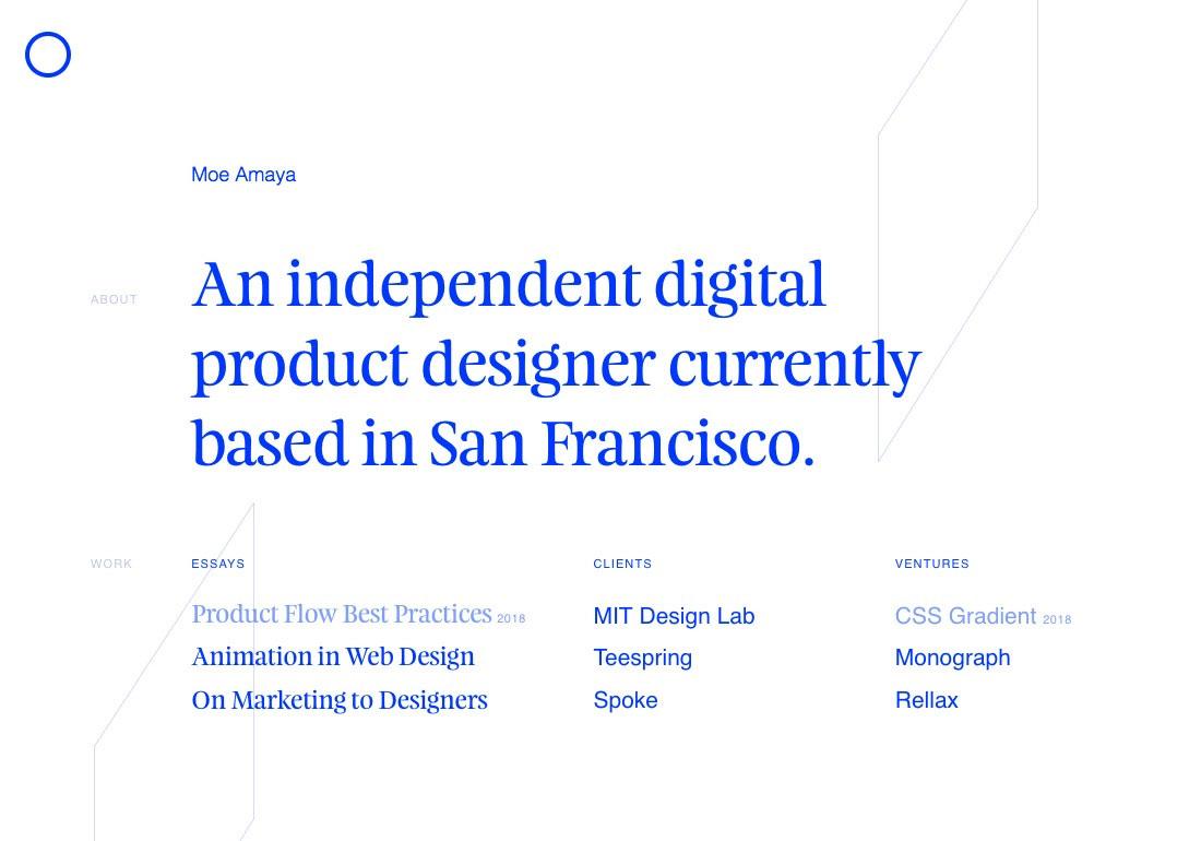 Moe Amaya — Product Designer