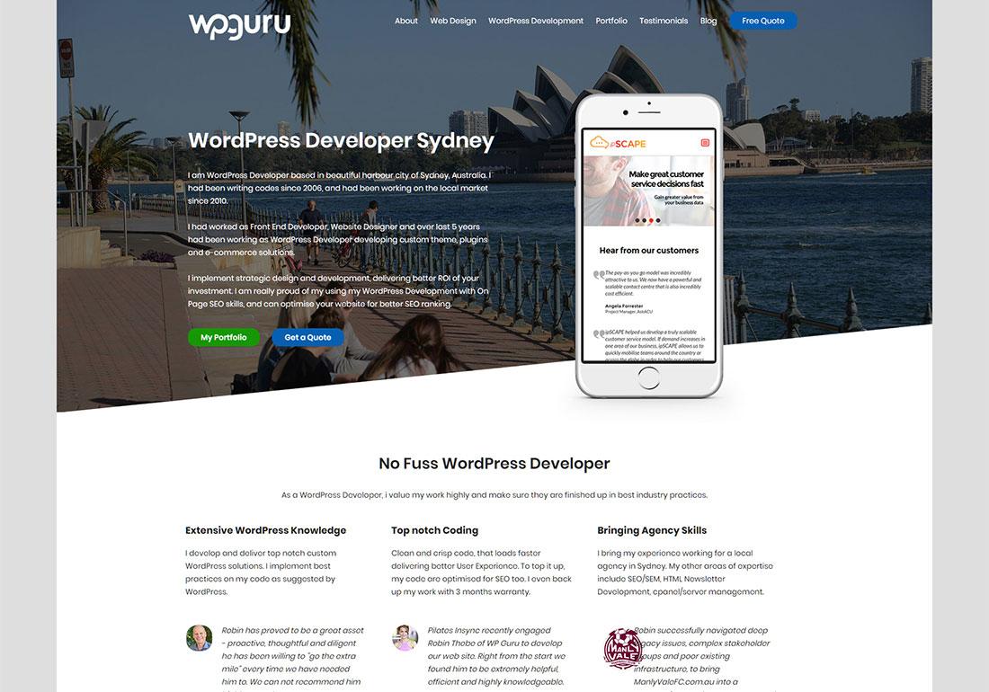 WP Guru - Wordpress Developer