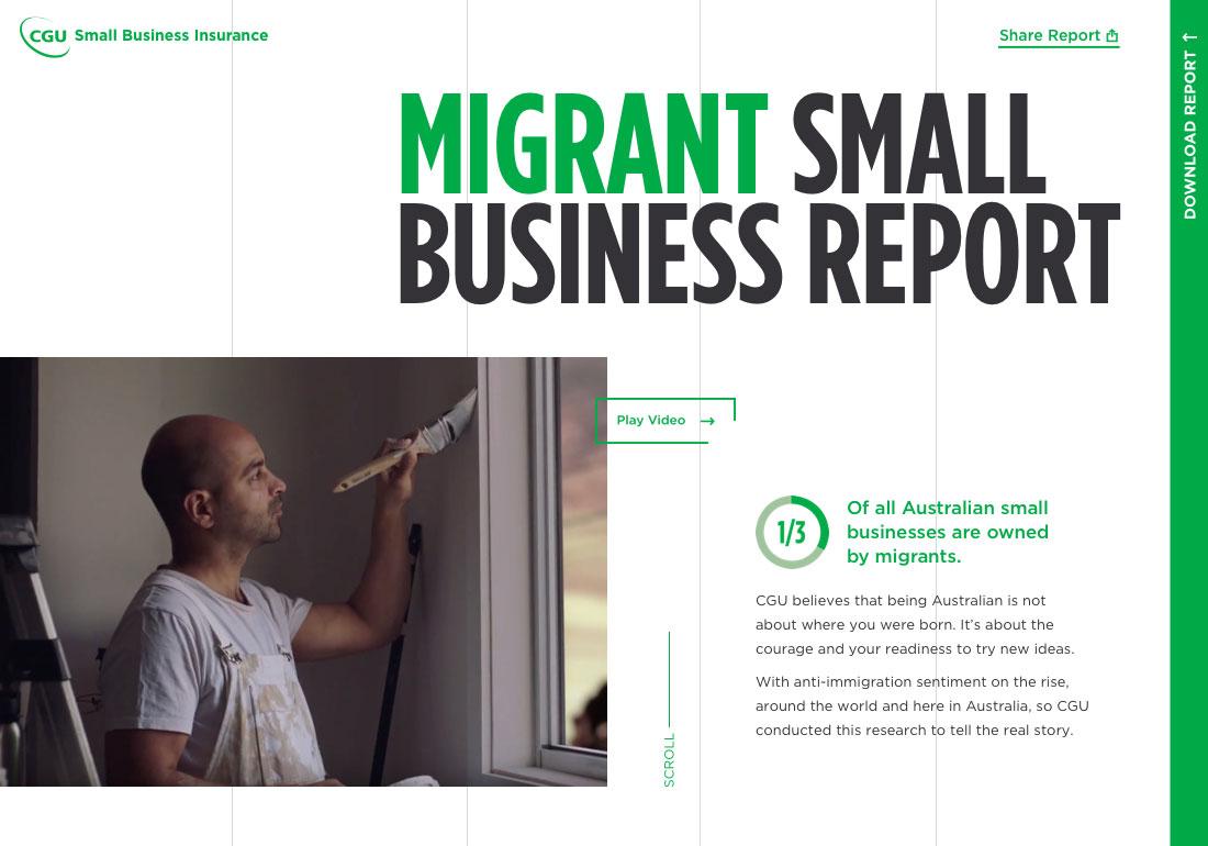 Australian Migrant Business Report