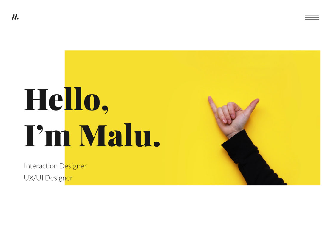 Malu - Interaction Designer