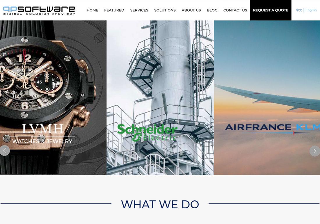 QPSOFTWARE Web Design Agency