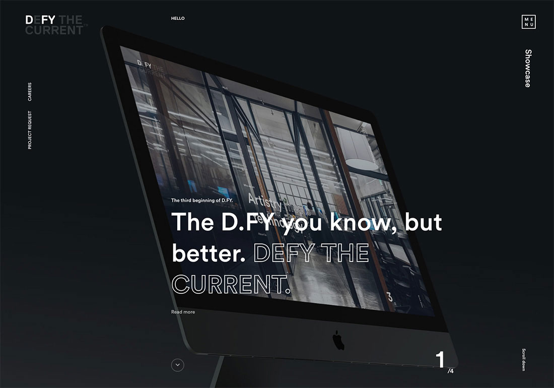 DEFY THE CURRENT™ | D.FY