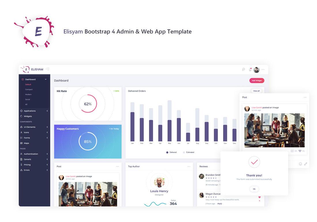Elisyam - Web App & Admin Dashboard