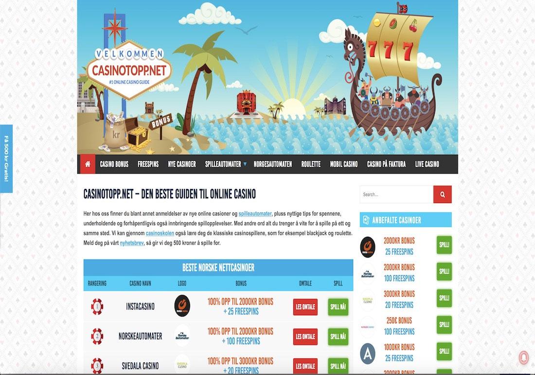 CasinoTopp.net - online casino