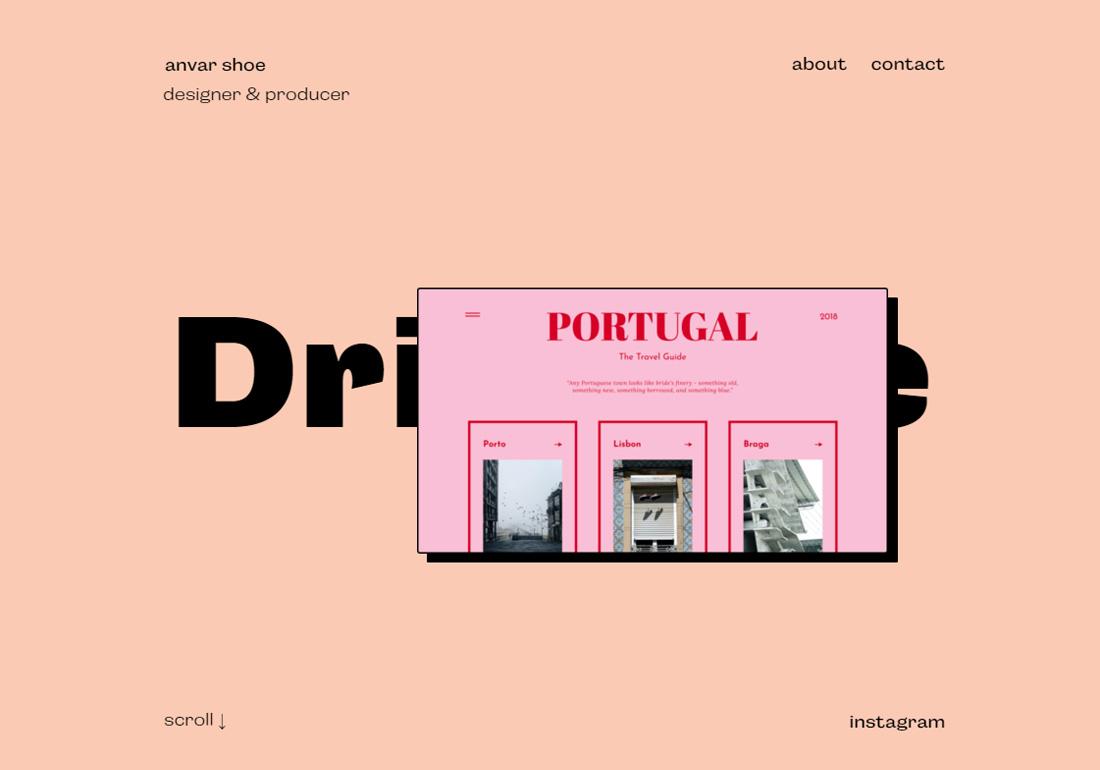 Anvar Shoe — Digital Designer Portfolio