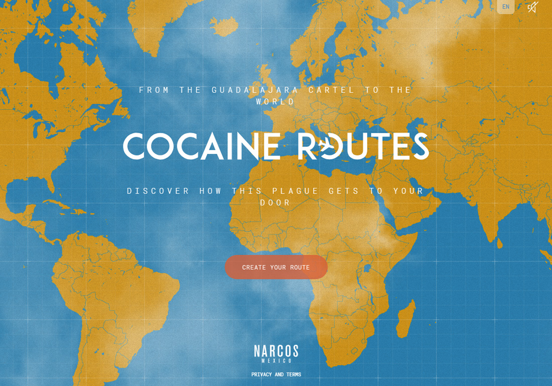 Narcos:Mexico - Cocaine Routes