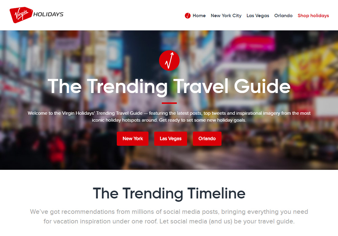 The Trending Travel Guide