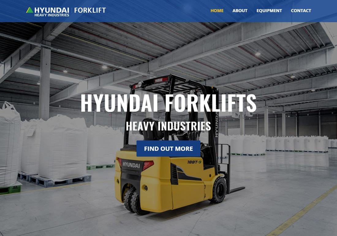 Hyundai Forklifts Victoria