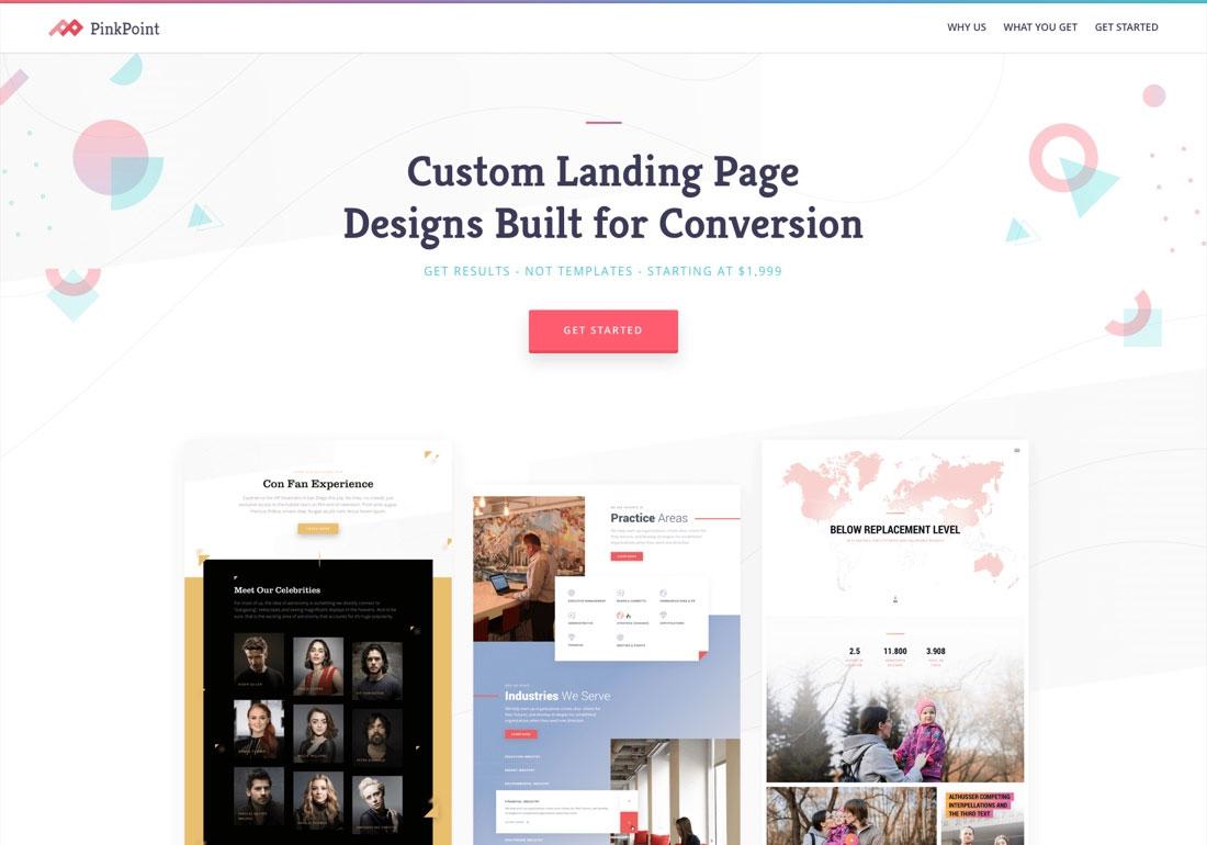 Custom Landing Page Designs