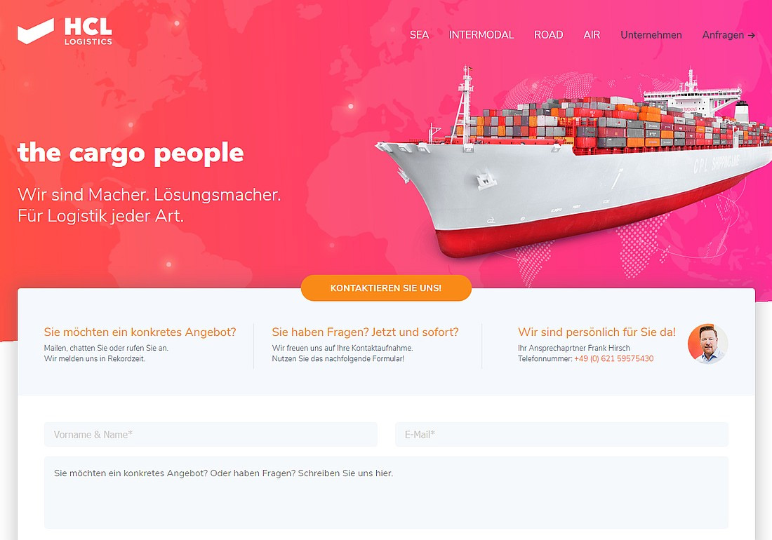 HCL-Logistics - the cargo people