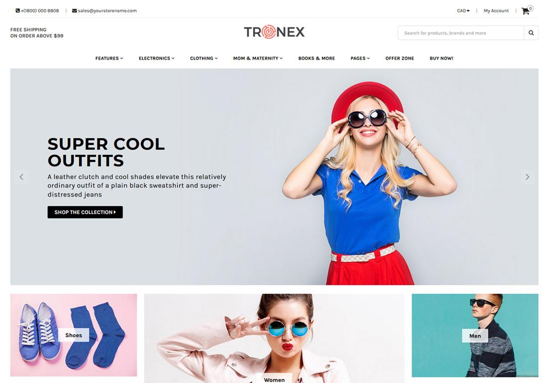 Tronex - Multipurpose Shopify Template