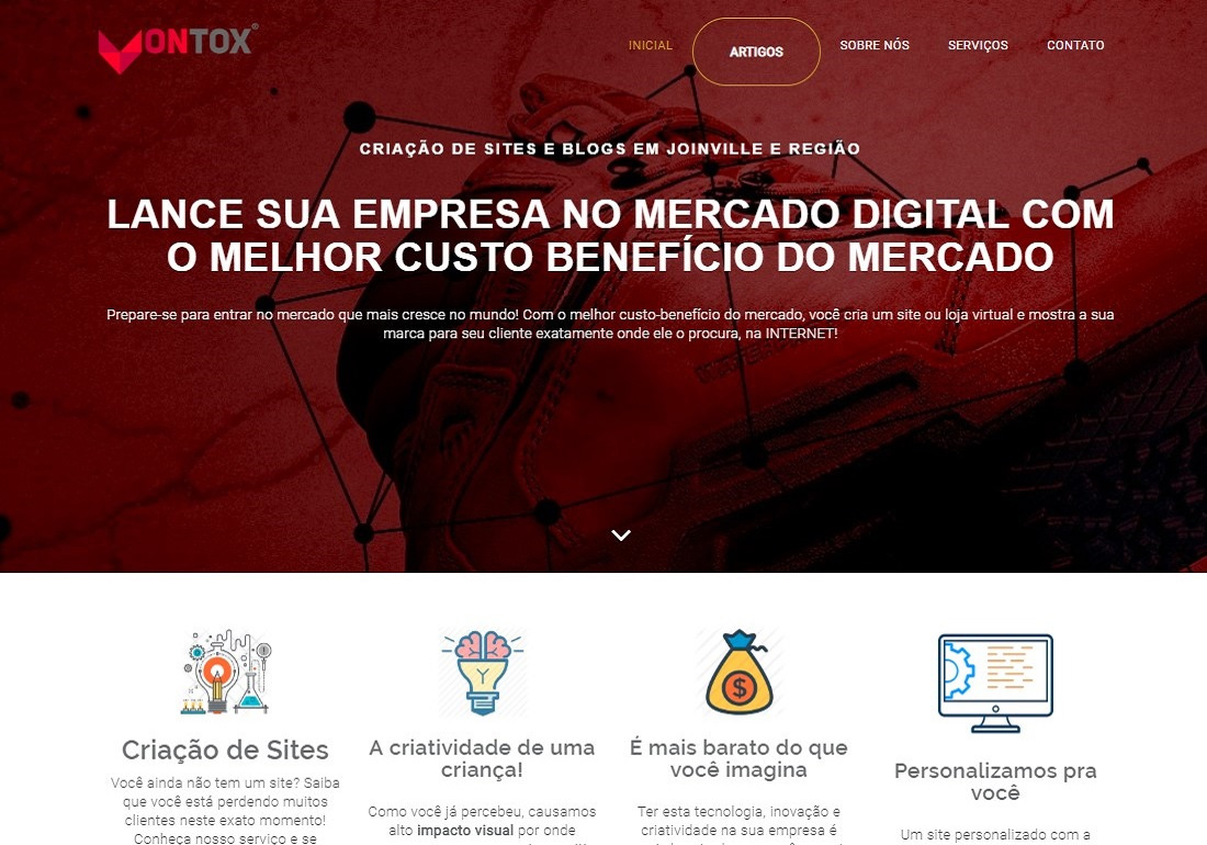 Vontox Criação de Sites e Blogs