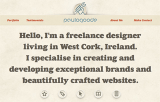 Paul Goode: Freelance Website and Graphic Designer
