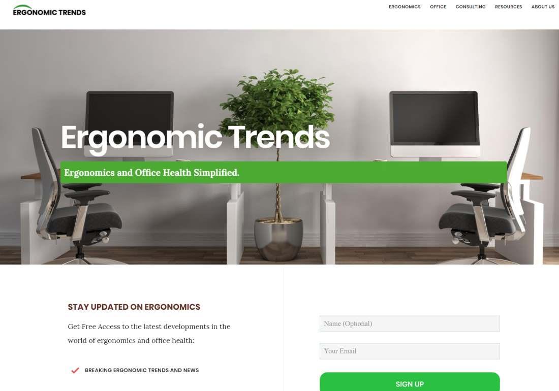 Ergonomic Trends