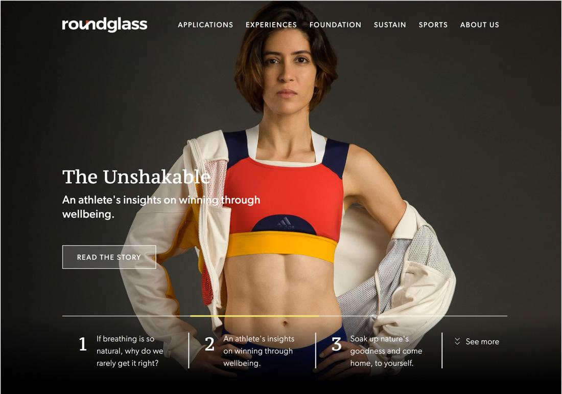 RoundGlass Corporate Website
