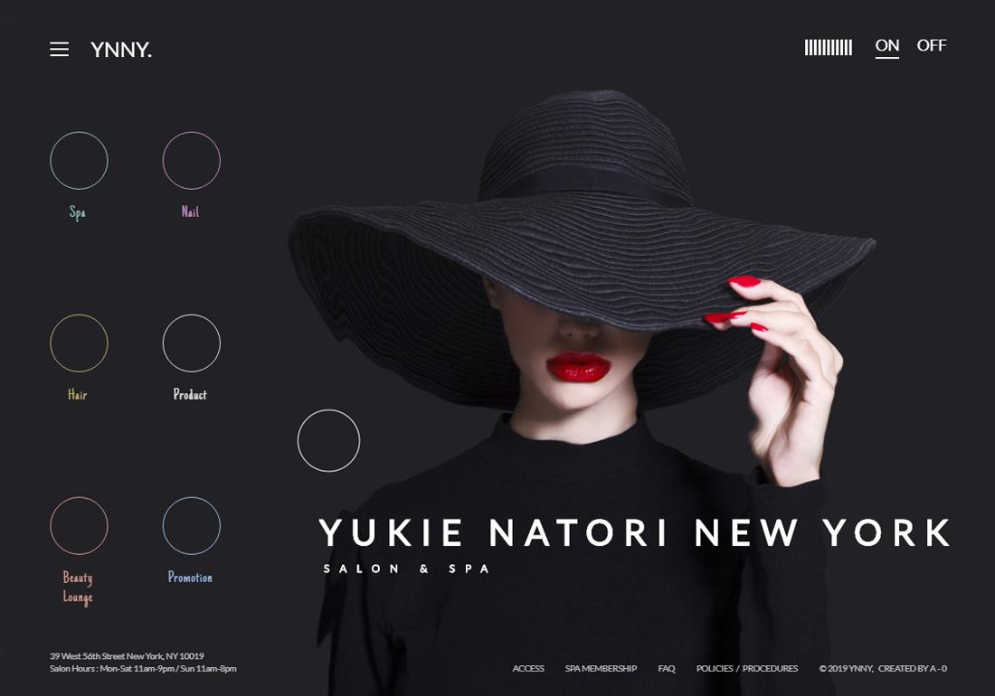 YUKIE NATORI NEW YORK