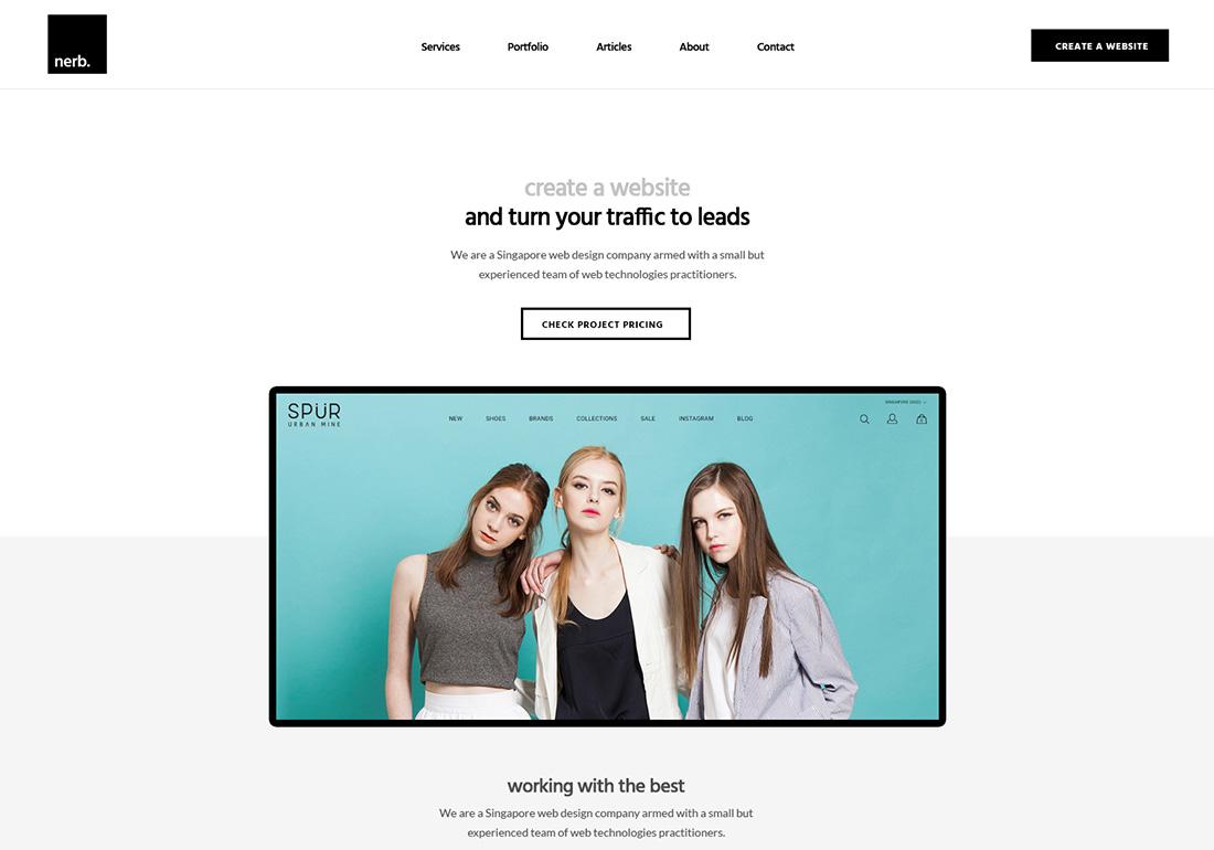Nerb Media - Singapore Web Design