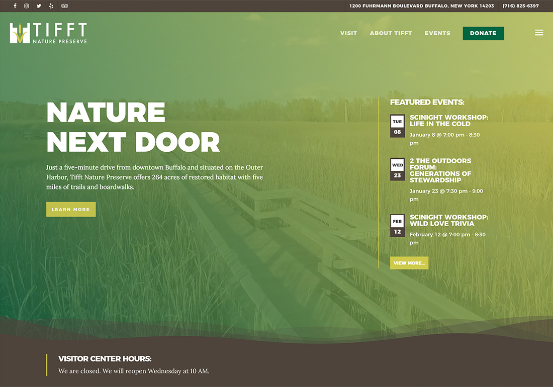 Nature Website Inspirations - CSS Winner