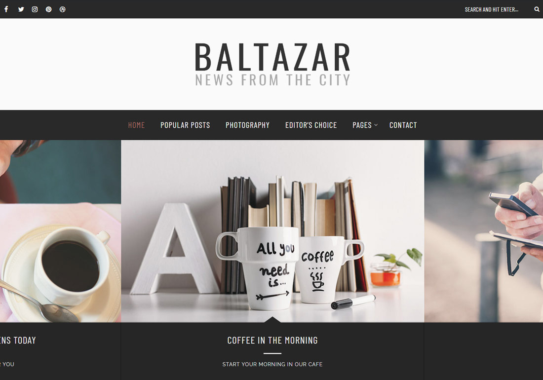 Baltazar – A Gentleman's WordPress