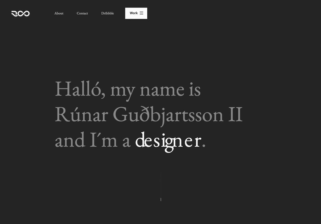 Portfolio of Rúnar Guðbjartsson II