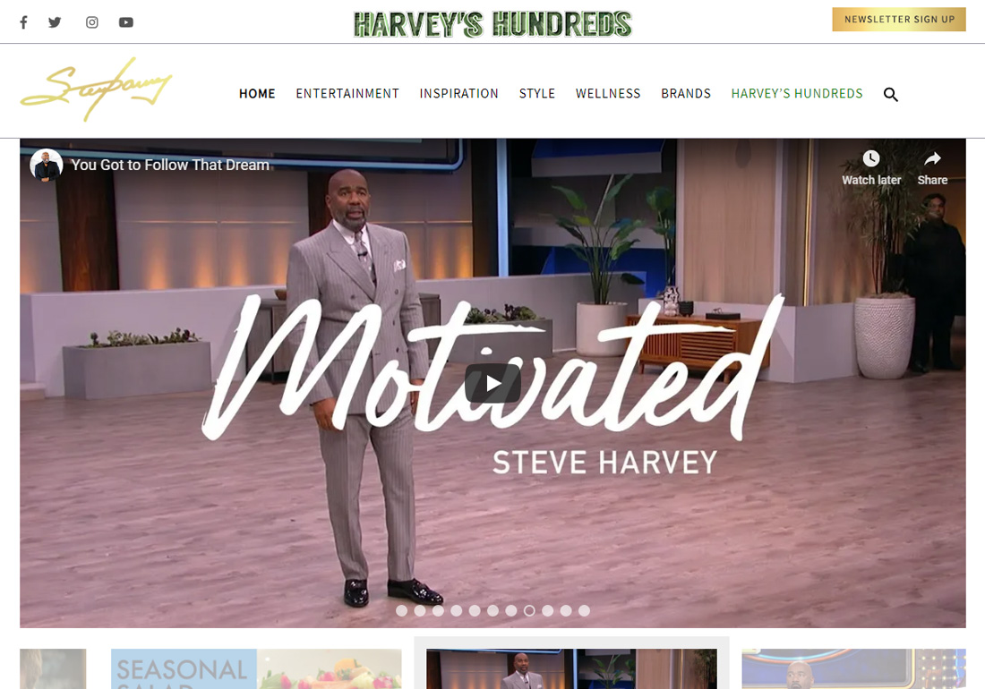 Official Website of Steve Harvey