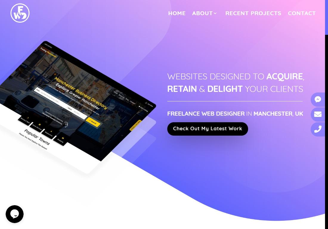 Freelance Web Designer - Fernandes
