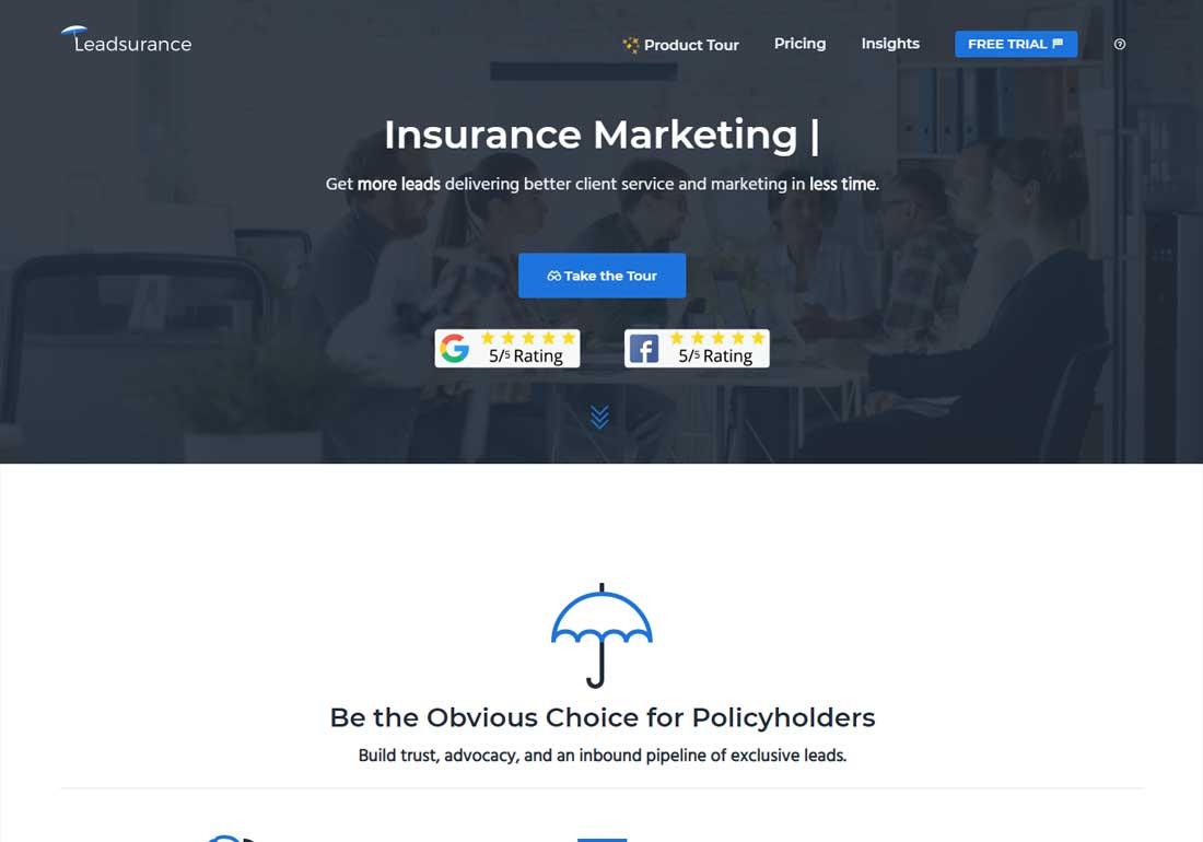Leadsurance - Smart Insurance Marke