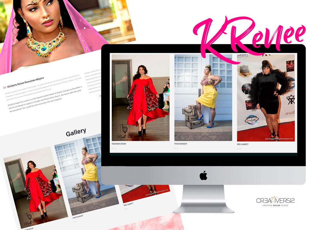 Website - MODEL KRenee