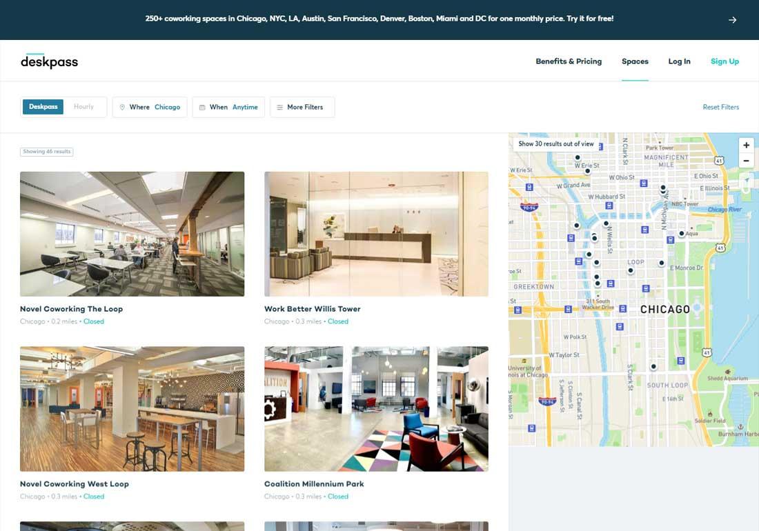Deskpass Coworking&Shared Workspace