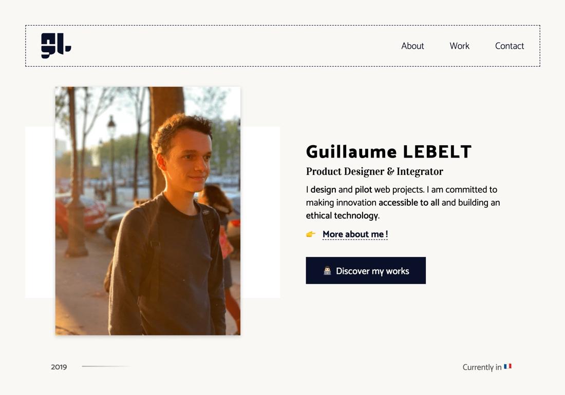 Guillaume Lebelt - Portfolio