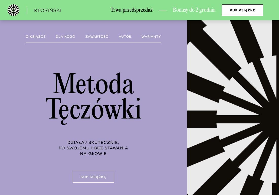 Metoda Teczowki – Jacek Klosinski