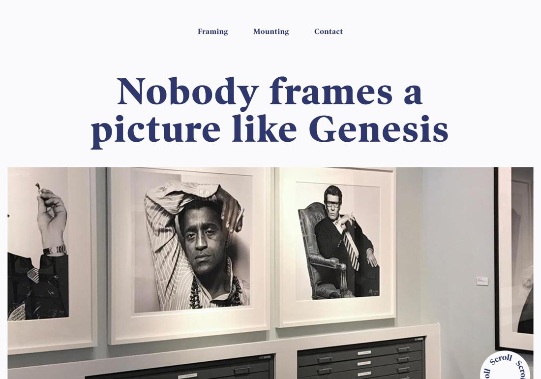 Genesis Framing