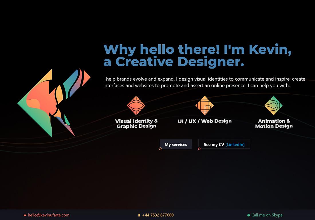 Kevin Ufarte | Creative designer