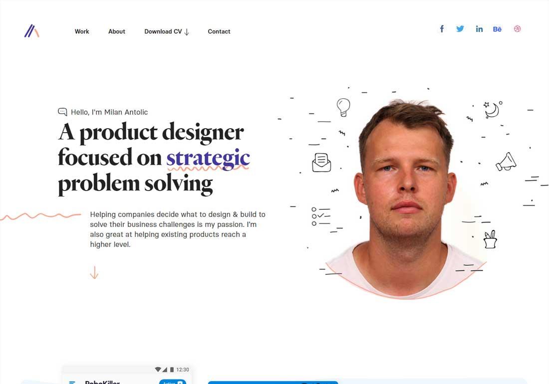 Milan Antolic - Product Designer