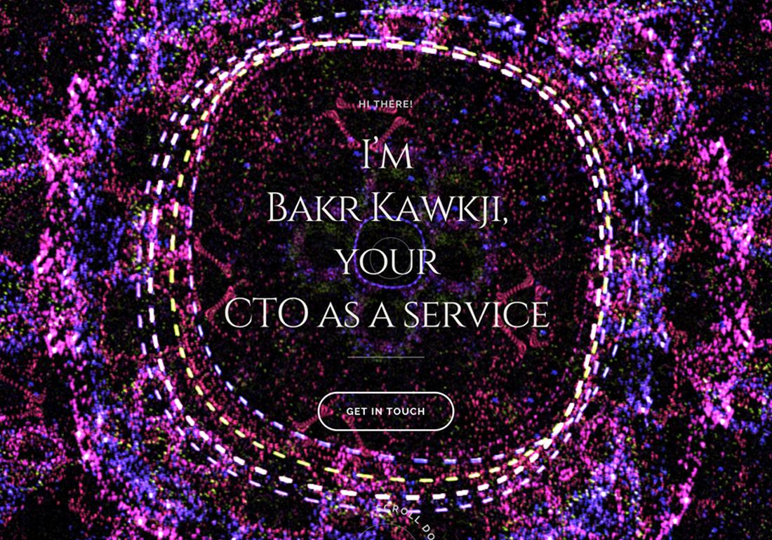 Bakr Kawkji, CTO as a service