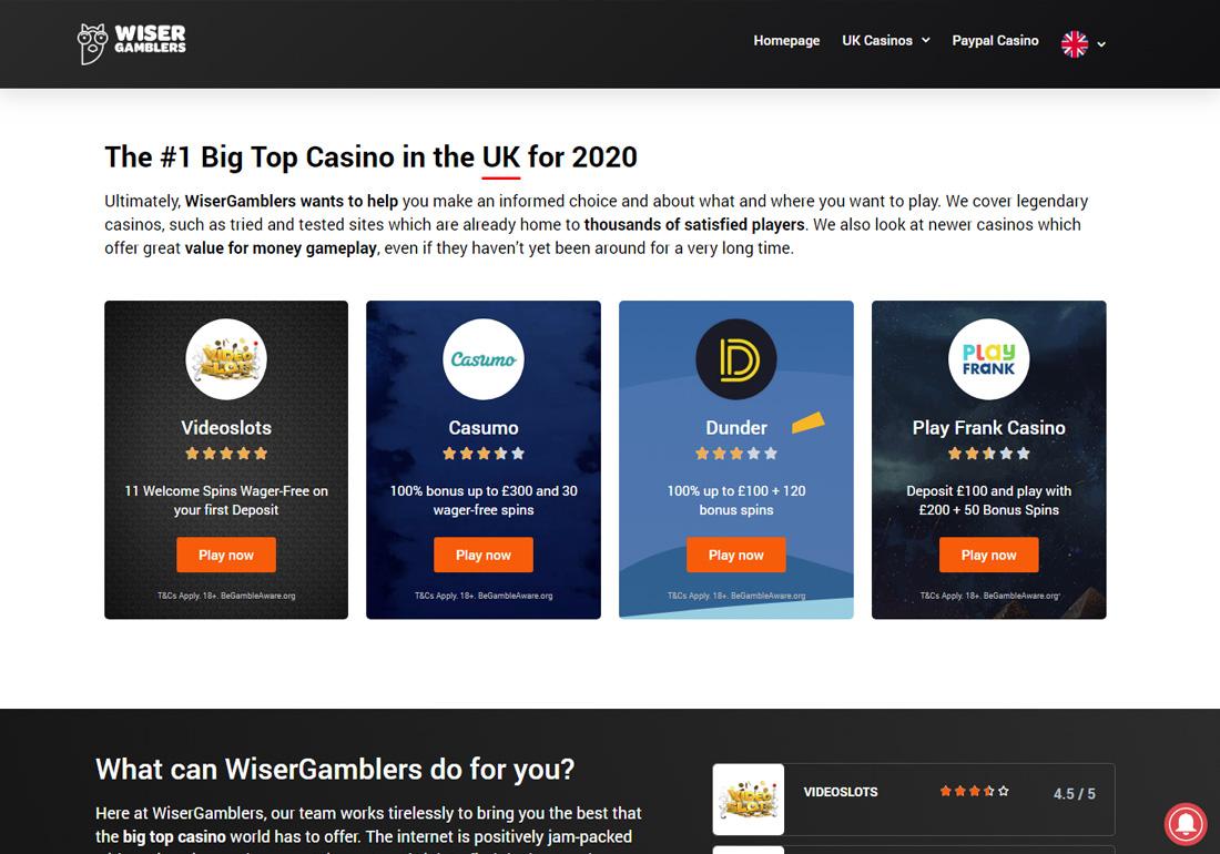 Wiser Gamblers