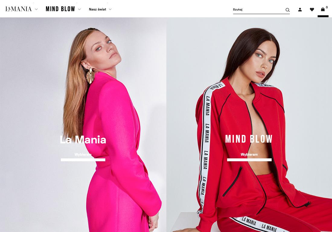 La Mania - brand online store