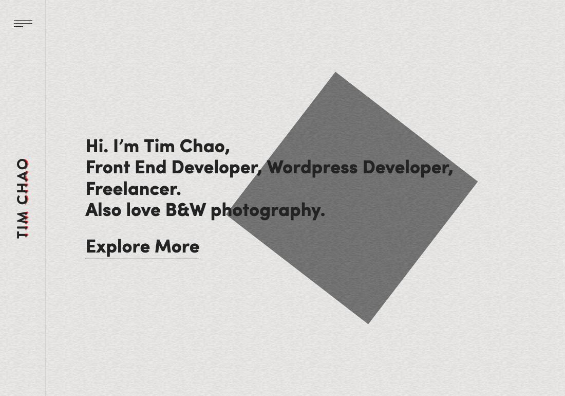 Tim Chao | Portfolio