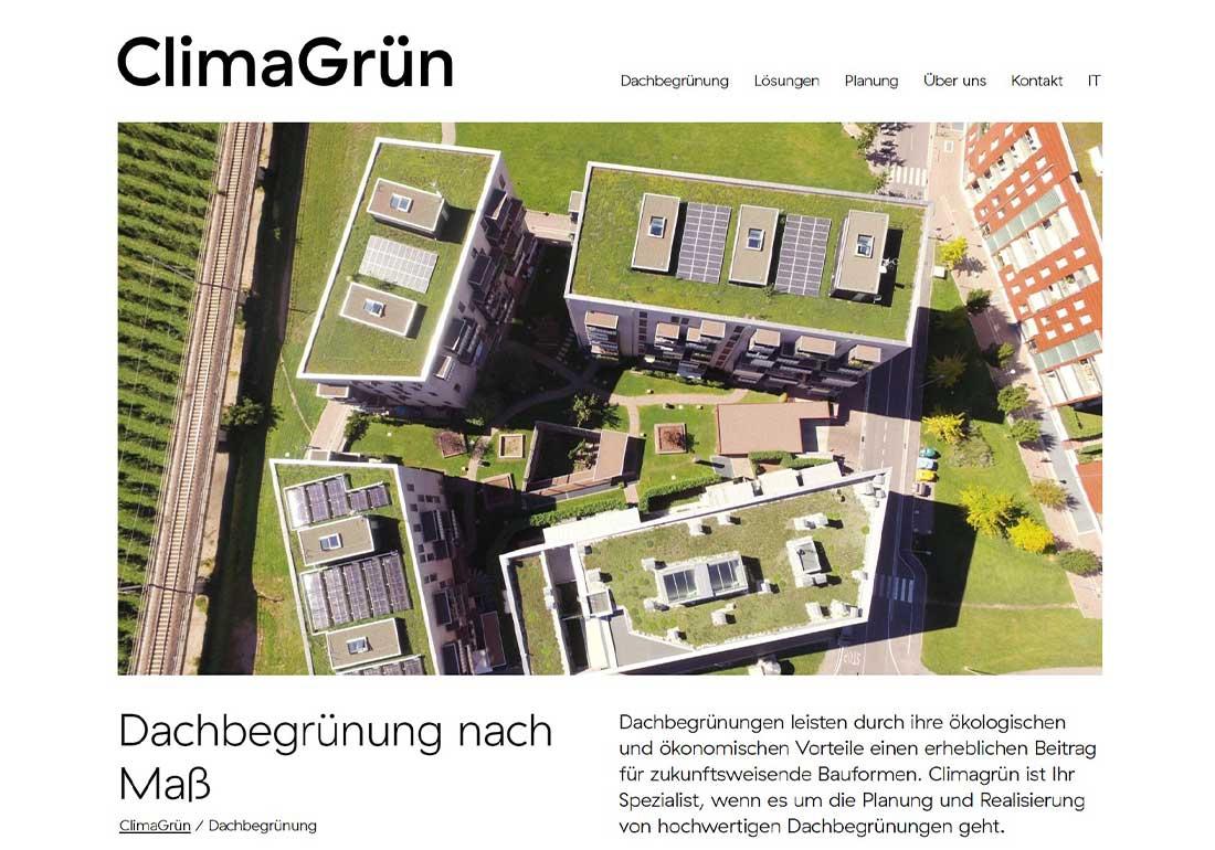 ClimaGrün © Technical green spaces