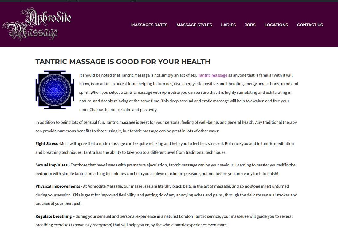 Aphrodite Massage London
