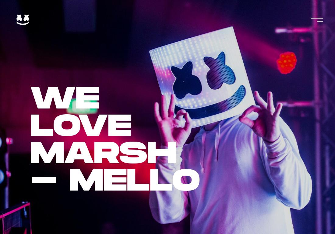 WE LOVE MARSHMELLO